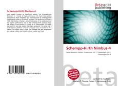 Bookcover of Schempp-Hirth Nimbus-4