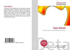 Bookcover of Rajni Bakshi