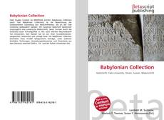 Bookcover of Babylonian Collection