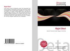 Bookcover of Rajni Devi