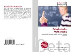 Buchcover von Babylonische Mathematik