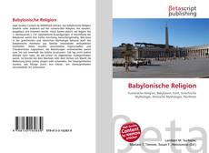 Couverture de Babylonische Religion