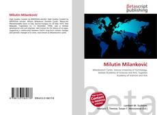 Capa do livro de Milutin Milanković