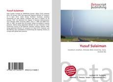 Couverture de Yusuf Sulaiman