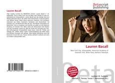 Lauren Bacall kitap kapağı
