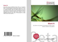 Bookcover of Want It