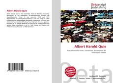 Buchcover von Albert Harold Quie