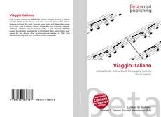 Viaggio Italiano kitap kapağı