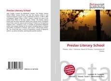 Bookcover of Preslav Literary School