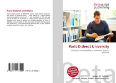 Couverture de Paris Diderot University