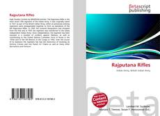 Bookcover of Rajputana Rifles