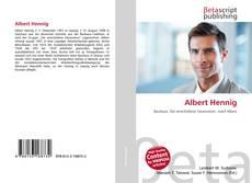 Bookcover of Albert Hennig
