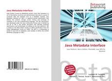 Buchcover von Java Metadata Interface