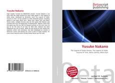Portada del libro de Yusuke Nakano