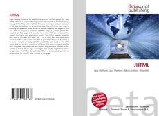 Bookcover of JHTML