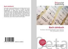 Buchcover von Bach-Jahrbuch