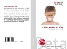 Bookcover of Albert Hermann Post