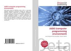 Portada del libro de JUDO (computer programming environment)