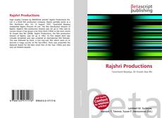 Bookcover of Rajshri Productions