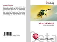 Bookcover of Albert Hirschfeld