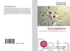 Couverture de Geum japonicum