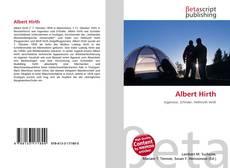 Bookcover of Albert Hirth