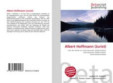 Portada del libro de Albert Hoffmann (Jurist)