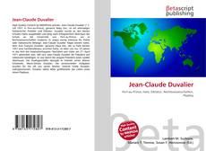 Portada del libro de Jean-Claude Duvalier