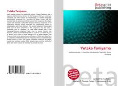 Bookcover of Yutaka Taniyama