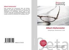 Capa do livro de Albert Hohenester