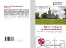 Copertina di Robert Hutchinson (Australian Politician)