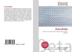 Capa do livro de Press Brake