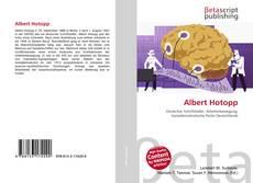 Portada del libro de Albert Hotopp