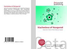 Viacheslava of Novgorod kitap kapağı
