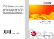 Bookcover of Raju Sundaram