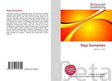 Bookcover of Raju Surnames