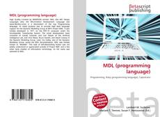 MDL (programming language)的封面