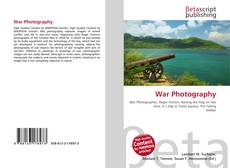 Bookcover of War Photography