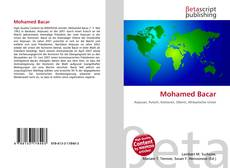Bookcover of Mohamed Bacar