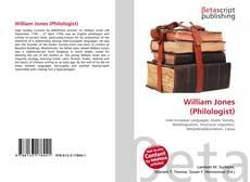 Portada del libro de William Jones (Philologist)
