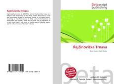 Bookcover of Rajčinovićka Trnava