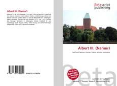 Bookcover of Albert III. (Namur)