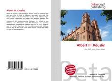 Bookcover of Albert III. Keuslin