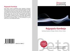 Rajyapala Kamboja kitap kapağı