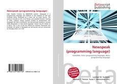 Bookcover of Newspeak (programming language)