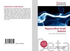 Bookcover of Rajyavardhan Singh Rathore