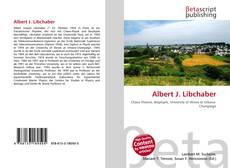 Buchcover von Albert J. Libchaber