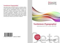 Bookcover of Tombstone (Typography)