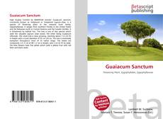 Обложка Guaiacum Sanctum