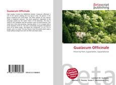 Couverture de Guaiacum Officinale